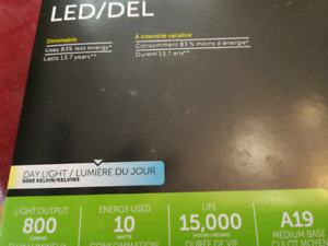 Noms LED Dimmable 3 Bulb set