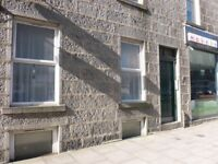 KING STREET, 2 BED FLAT, ABER. UNI, GAS CENT, FURN, lounge/kitchen/Dining, bathroom, Double Glaz