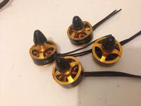 Racing drones / quad 1806 2400kv brushless motors