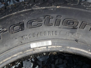 P195/60R15 -- BFGoodrich Traction T/A  --  one tire only