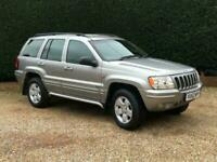 2002 Jeep Grand Cherokee 2.7 CRD Limited 4x4 5dr SUV Diesel Automatic