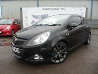 2008 VAUXHALL CORSA 1.6 VXR 3 DOOR 18 INCH ALLOY WHEELS BLACKED OUT BLACK GLASS