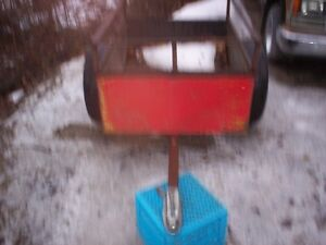 Small all steel trailer for 4x4