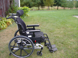 High Quality Tilting Wheelchair