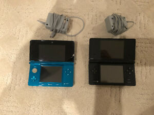 2 Nintendo DS Portable Gaming Systems