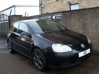 07 57 VOLKSWAGEN GOLF 1.4 5DR BLACK GTi ALLOYS AIRCON LOW INSURANCE LOW MILEAGE