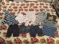 Boys clothes bundle newborn and 0-3