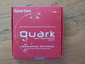New Spartan Quark RC Helicopter Gyro