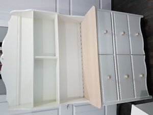 Dresser, chest, and night table