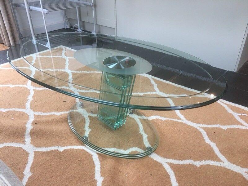 Modern High Quality Glass Coffee Table