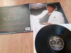 Michael Jackson remastered thriller vinyl LP