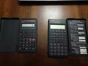 Two Calculators for Sale