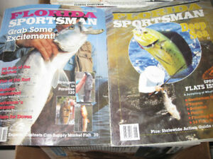 50+ Florida fishing magazine from 1993-1997 & Sport Fishing