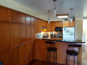 Canac Maple Kitchen with large pantry