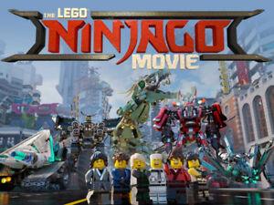 LEGO Ninjago Movie Sets ( FACTORY SEALED BRAND NEW )