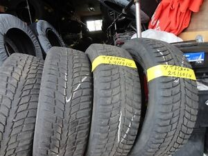 4 WINTER TIRE 215/60/R16 85% TREAD CALL 519-760-2400