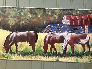 Oil Painting Canvas Art Kingston Kingston Area image 3