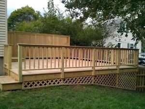 All ur decks, fence no money down St. John's Newfoundland image 1