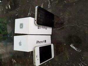iPhone 4S 8GB & 16GB CANADIAN MODELS NEW CONDITION With New Accessories Unlocked 90 DAYS WARRANTY!!!