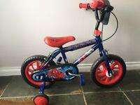 Boys Spider-Man bicycle bike