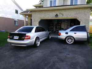 Half car trailer Audi A4 B5 with coilovers Kitchener / Waterloo Kitchener Area image 7