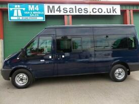 Ford Transit 350 14 Seat Minibus. 3.5t GVW