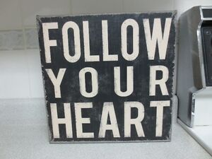 Follow Your Heart Canvas Art Print