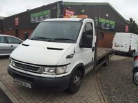 IVECO DAILY 35 C12 LWB 2.3 RECOVERY TRUCK 3500kg LOW MILEAGE 87k FIFE