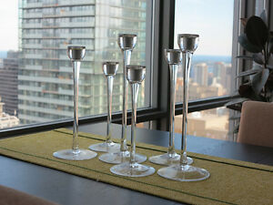 Set of 6 Candle Holders