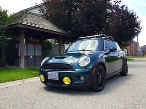 Beautiful British Racing Green Mini Cooper S for Sale!
