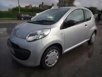 CITROEN C1 1.0 COOL~57/2007~3 DOOR HATCHBACK~5 SPEED MANUAL~STUNNING SILVER