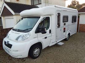 Autocruise Starspirit, Peugeot 2.2 hdi diesel, Luxury 2 Berth and U Shape Lounge