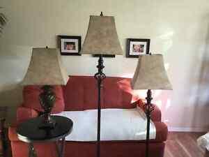 3 piece lamp set... Strathcona County Edmonton Area image 2