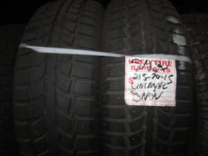 Various Sized Winter Tires Available!