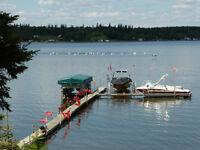 Boat dock for sale Bayview Beach Plamondon, Lac La Biche Lake