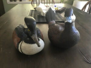 Carved Duck Decoys