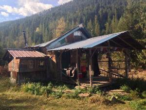 cosy rural cabin south of kaslo