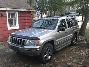 2002 Jeep Grand Cherokee Limited *As is*