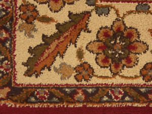Area Rug 4x6 Pierce Beige Maroon