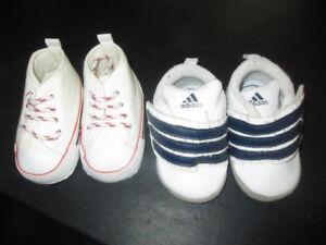 WOW - Baby boy shoes- 2T- Souliers pour bébé garçon