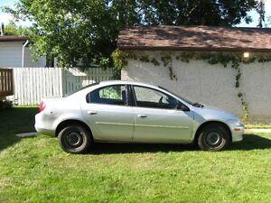 2002 Chrysler Neon LE Sedan