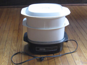Waring Steam Chef and Rival Crock Pot-Slow Cooker