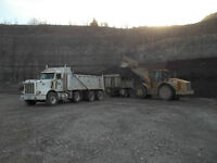looking for experienced triaxle dump truck driver
