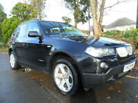 BMW X3 2.0TD AUTO 2009 X DRIVE SE EDITION EXCLUSIVE COMPLETE WITH M.O.T