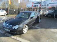 2003 MERCEDES-BENZ C CLASS 3.2 C320 SE 3 DOOR AUTO 218 BHP