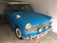 Austin Farina 1963 Classic - 1 owner (over 50 years old) INC PRIVATE PLATE