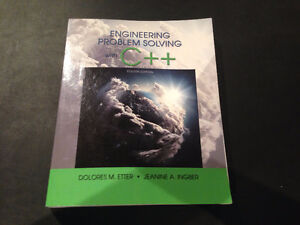 Engineering Problem Solving with C++ 4th edition
