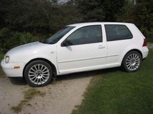 2002 Volkswagen Golf Coupe (2 door)