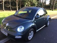 2003 Volkswagen Beetle 1.6-65,000-Full history-June 2018 mot-exceptional value
