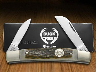 Buck Creek 2-Blade Congress Knife Deer Stag German Pocket Knives BC-6642 DS